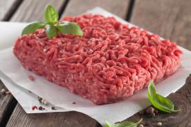 Greaseproof paper for handling minced meat